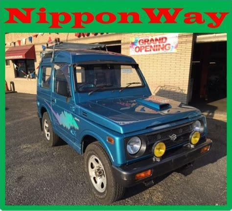 Suzuki Mini Trucks For Sale by Suzuki Jimny Samurai Jeep 1991 Blue For Sale