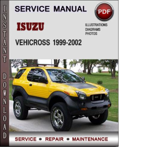 old car manuals online 1999 isuzu vehicross security system isuzu vehicross 1999 2002 factory service repair manual download pd