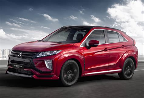 The sporty suv that's ready for action. Facelifted Mitsubishi Eclipse Cross arrives next year ...