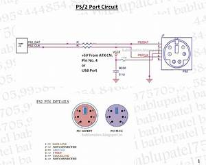 Bablu Notes  Ps  2 Port Circuit Diagram And Its Problem In Desktop Motherboard