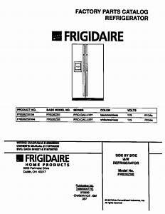 Frigidaire Frigidaire Side By Side I U0026w Refrigerator