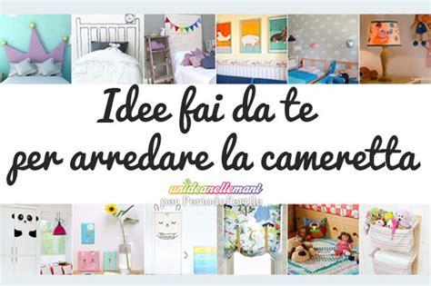 Camerette Per Bambini Fai Da Te by Arredare La Cameretta Dei Bambini 12 Idee Fai Da Te
