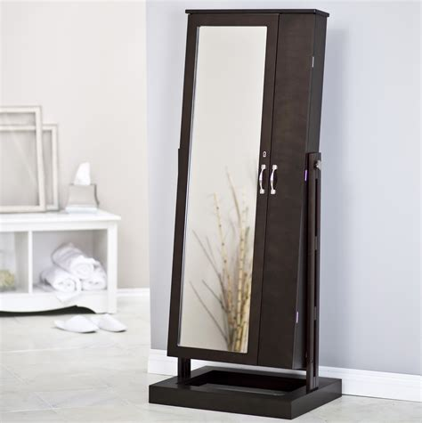 wall mount jewelry armoire length mirror jewelry armoire home design ideas