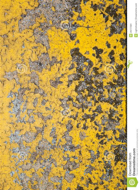 old yellow old yellow gray wall stock image image 29777581