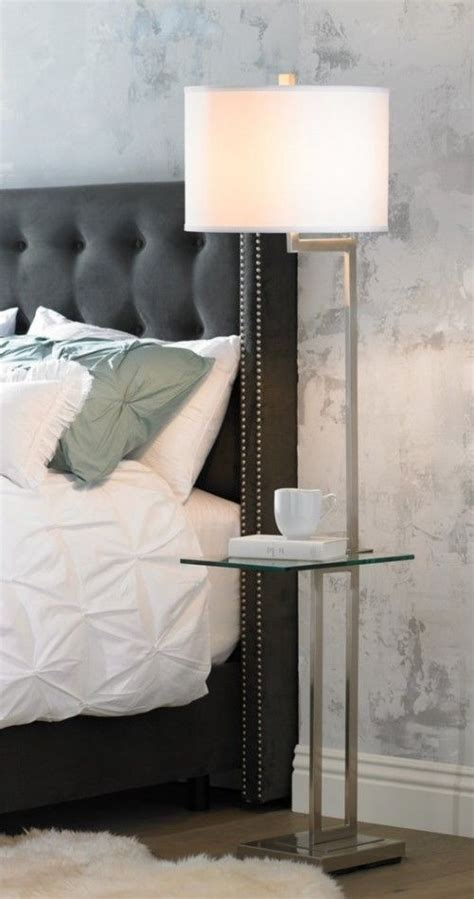 table lights for bedroom rudko floor lamp tray table polished steel finish and 17455 | 82cf449cf82734f6cda5139043f919a3 floor lamp bedroom floor lamps living room