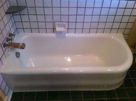 how to refinish or quot reglaze quot a bathtub future home
