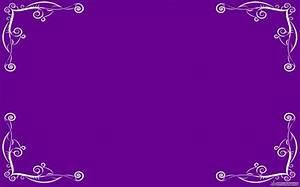 Purple Elegant Borders | Simple Elegant Border Backgrounds ...