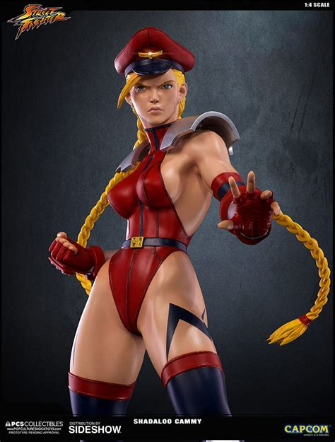 Street Fighter Shadaloo Cammy Statue By Pop Culture Shock