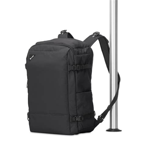 anti theft backpack vibe   black  pacsafe