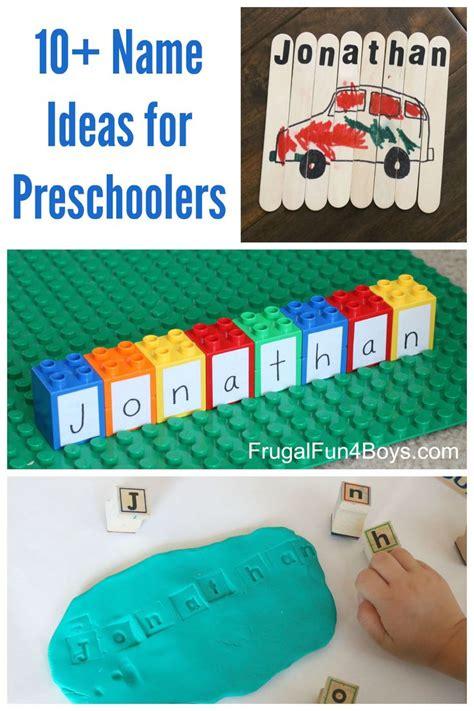 best 367 name recognition amp spelling ideas on 955 | 0b622899db18487a9164f76214965aa2 preschool shape activities activities for preschoolers