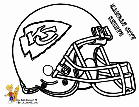 football helmet nfl coloring pages  boys printable
