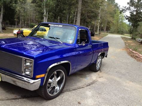 chevy paint colors blue 1984 chevy up custom paint house of colors cobat blue