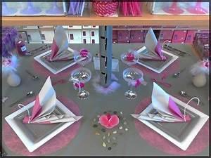 Deco Anniversaire Adulte : decoration de table pour anniversaire de mariage mariage ~ Melissatoandfro.com Idées de Décoration