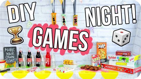 Diy Game Night Party Cheap Fun For Everyone Youtube