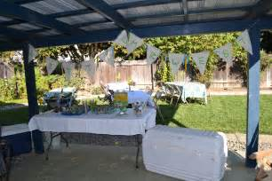 baby shower bbq babyq theme decoration ideas barbecue