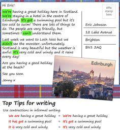 formal letter places  visit formal