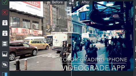 videograde app color grading tutorial filmic pro  log
