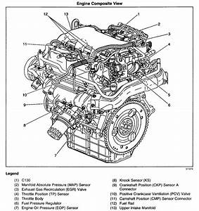 Diagram Of 2 4 Liter Alero Engine