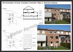 Maison Année 50 : extension d 39 une maison des ann es 50 armenti res ~ Voncanada.com Idées de Décoration