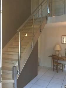 2 changer une balustrade bois changer une rampe d With repeindre un escalier en blanc 4 les garde corps en inox