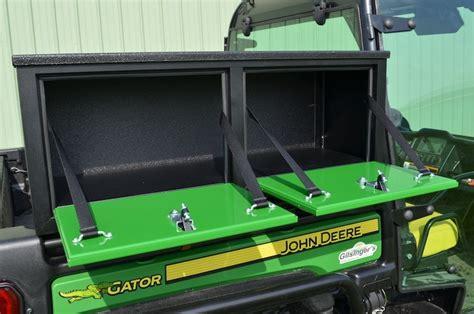side mount storage box  john deere full size gator