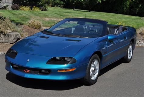 1995 Chevrolet Camaro Z28 Convertible 6speed For Sale On