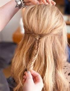 Coiffure Simple Femme : coiffures faciles simples et rapides pour cheveux mi longs coiffure simple et facile ~ Melissatoandfro.com Idées de Décoration