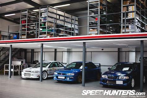 car builder roger clark motorsport garage workshop