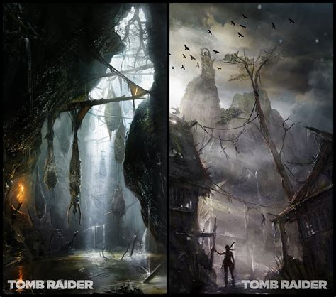 Tomb Raider Concept Art And Art Book Concept Art World