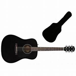 Fender CD60 Acoustic Guitar | Black from Rimmers Music