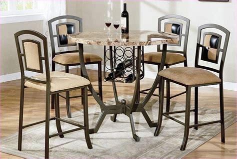 bar height table and chairs home design ideas
