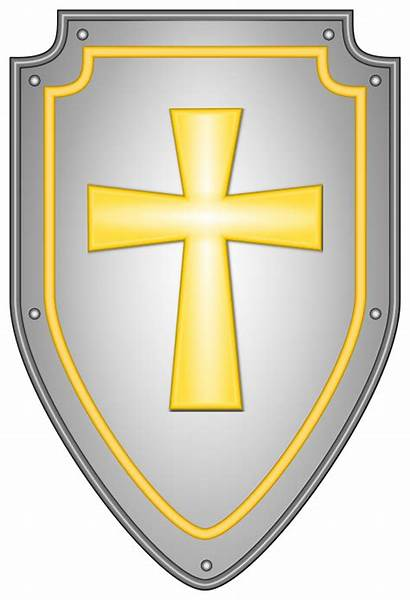 Shield Clipart Cross Faith Svg Transparent Crest