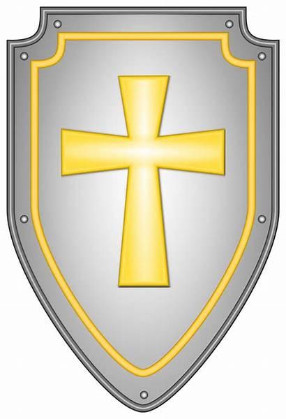 Shield Clipart Cross Faith Svg Transparent Crest