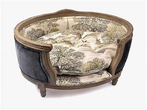 Rules of the jungle designer dog beds for Fancy dog furniture