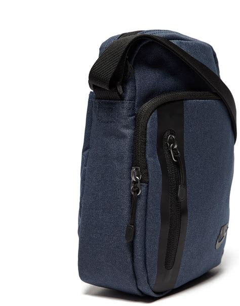 nike synthetic core small crossbody bag  blueblack