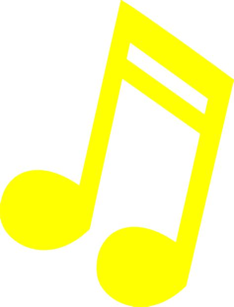 not balok lagu all of me yellow note kook clip at clker com vector clip royalty free