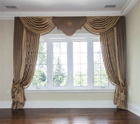 Window Drapes by Living Room Window Coverings Custom Drapes