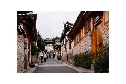 Hanok Village Bukchon Seoul Korea South Asia