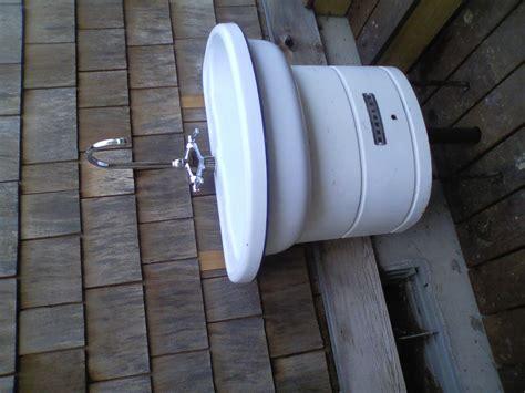 indoor no plumbing sink outdoor utility sink no plumbing required befon for