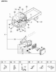 Kia K2700 Workshop Wiring Diagram
