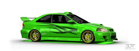 My Perfect Honda Civic Si