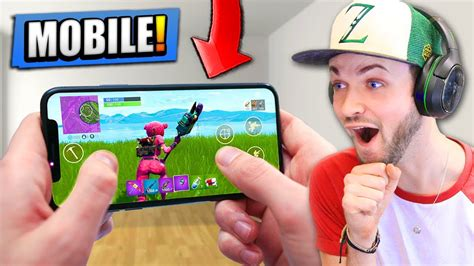 footage  fortnite battle royale  mobile youtube