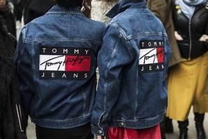 Jacket vintage tommy hilfiger denim jacket - Wheretoget