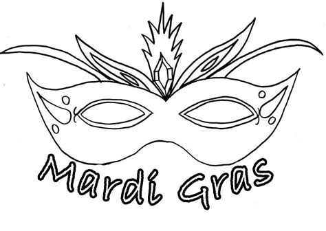 Coloring Mask by Mask Coloring Pages To And Print For Free