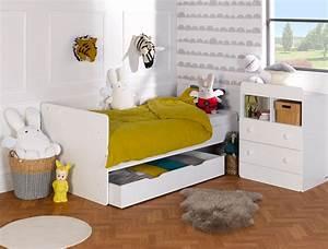 Chambre Bébé Complète évolutive : chambre b b volutive blanc malte ~ Teatrodelosmanantiales.com Idées de Décoration