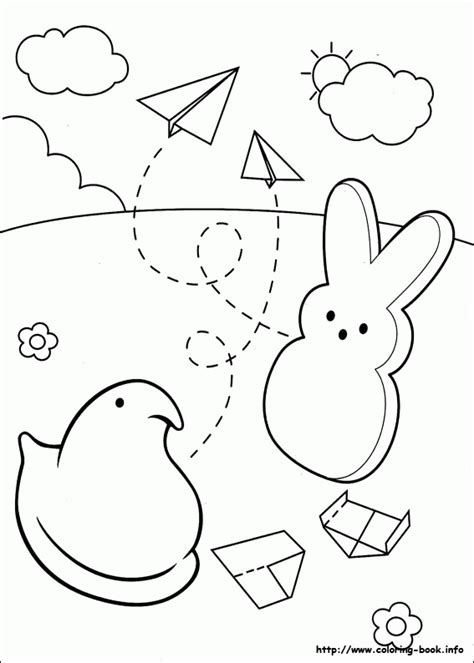 how to color marshmallows marshmallow peeps coloring pages coloring home