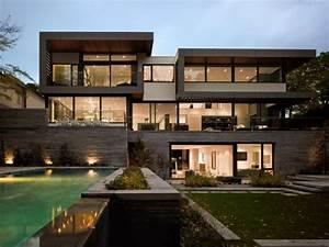 Maison Design Moderne Avec Beau Jardin  U00e0 Toronto