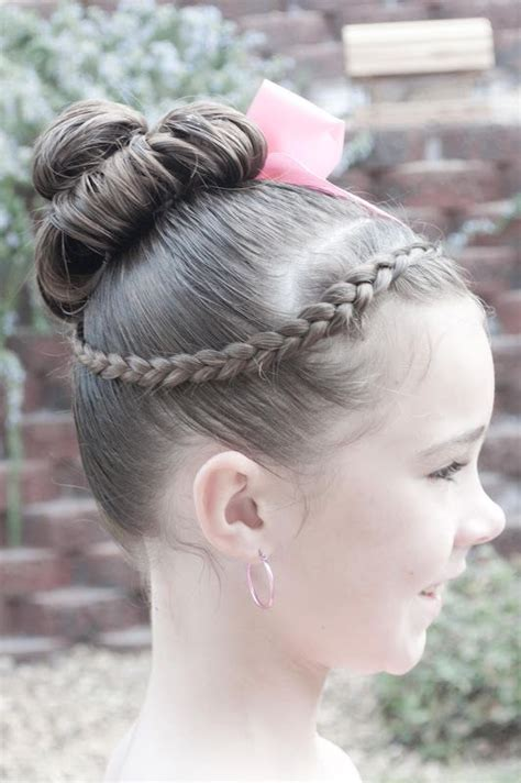 Ballet Hairstyles For by This Hair Is A Great Option For Recitals Dancehair