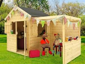 Maison De Jardin En Bois Enfant : cabane enfant bois jardipolys mod le alp ga prix mini ~ Dode.kayakingforconservation.com Idées de Décoration