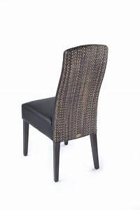 Chaise Noire Salle A Manger : chaise noire dossier loom brin d 39 ouest ~ Teatrodelosmanantiales.com Idées de Décoration
